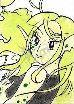Alandra, die Meerjungfrau