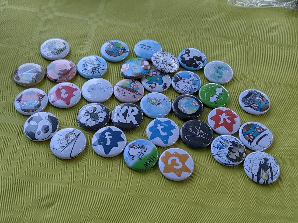 Buttons erstellt