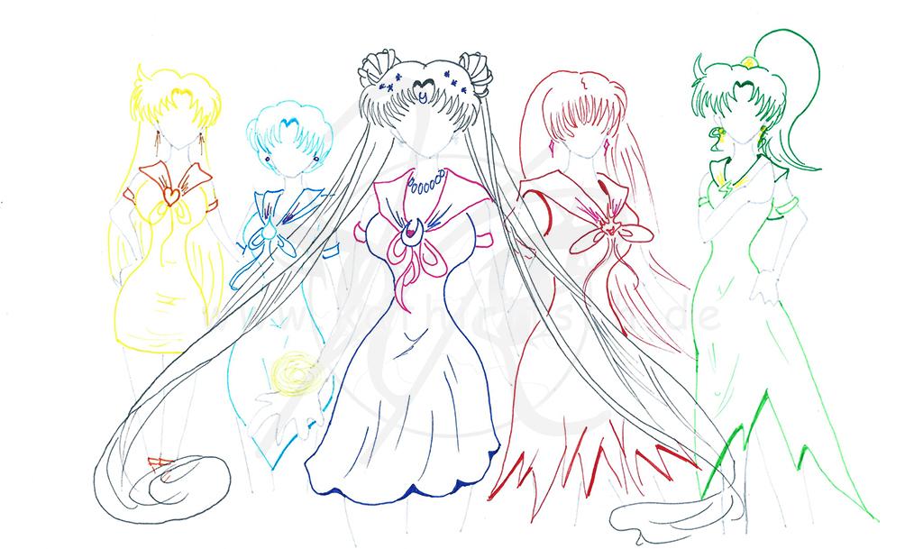 Sailor Moon - Styles: Kleider