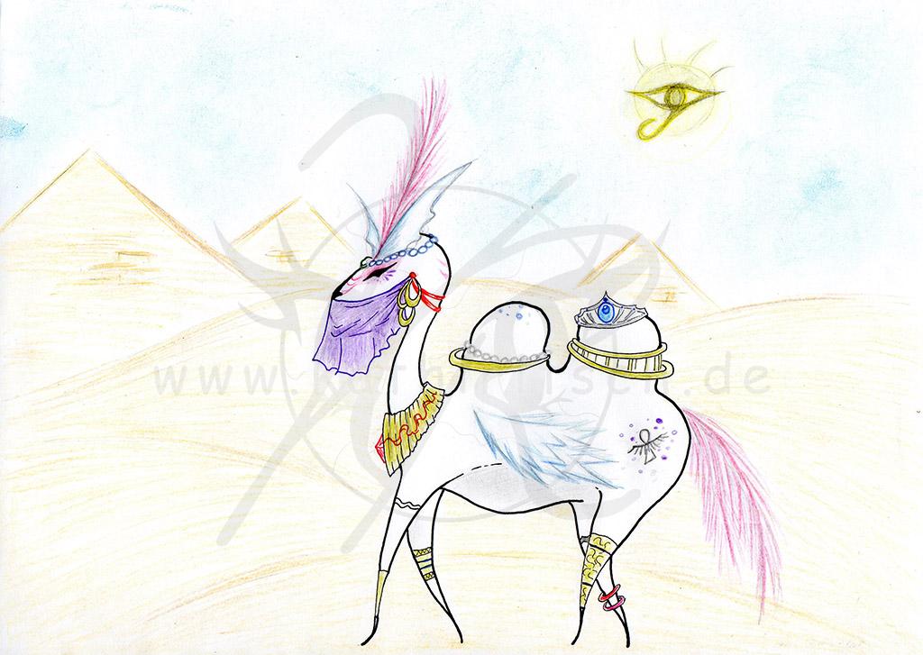 Weißes Kamel (Wort: Kamel)