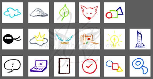 Unterseiten - Symbole
