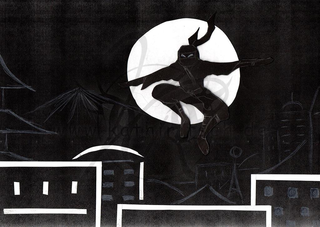 Schattenkrieger (Wort: Schatten)