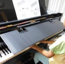 ピアノブラインド使用例 佐賀県にて