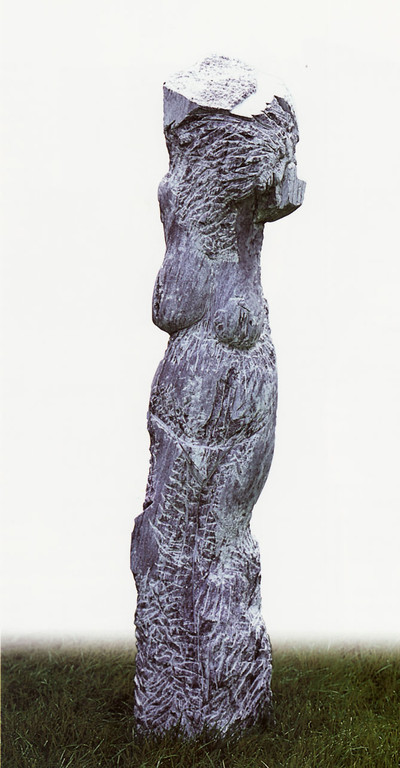 """""""Sarajevo"""" 1995, Marmor, H 198cm"""