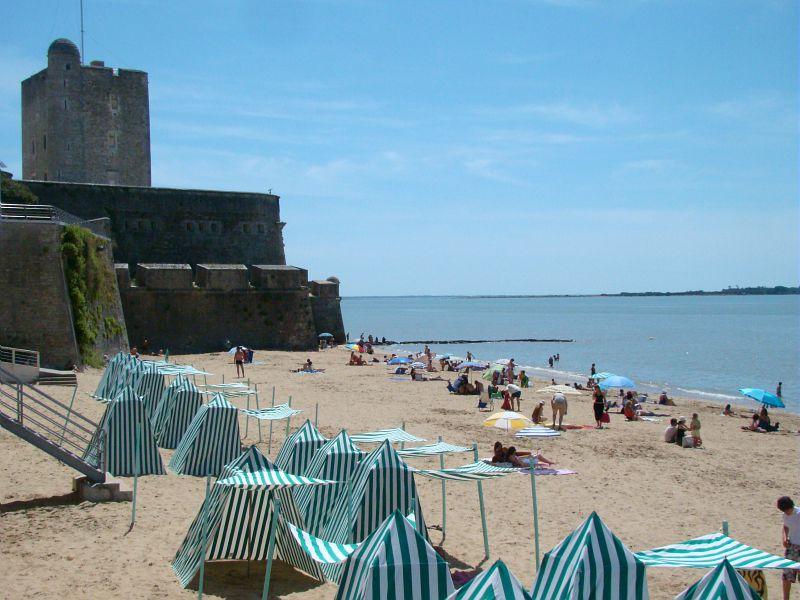 La plage de Fouras