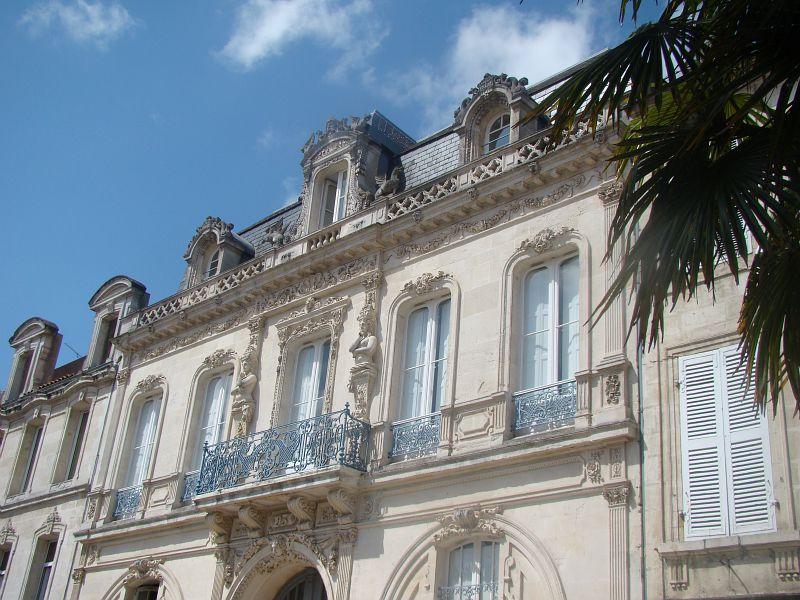 Le centre-ville de Rochefort