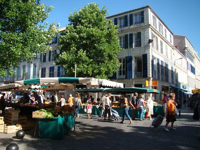 Le marché de Rochefort : mardi, jeudi et samedi matin