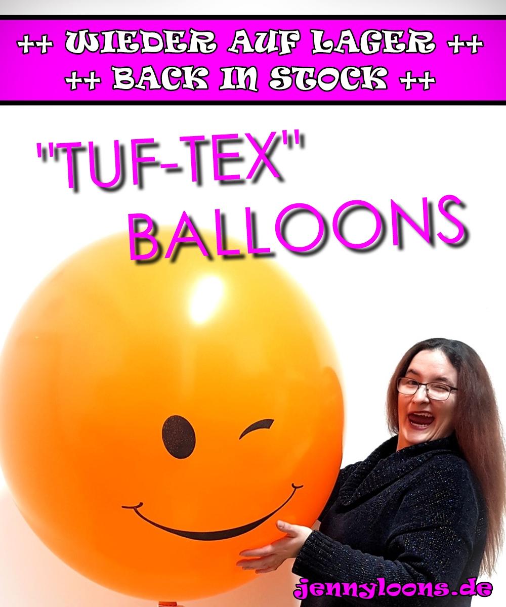 TUFTEX TUF-TEX Balloons Ballons wieder auf Lager - back in stock