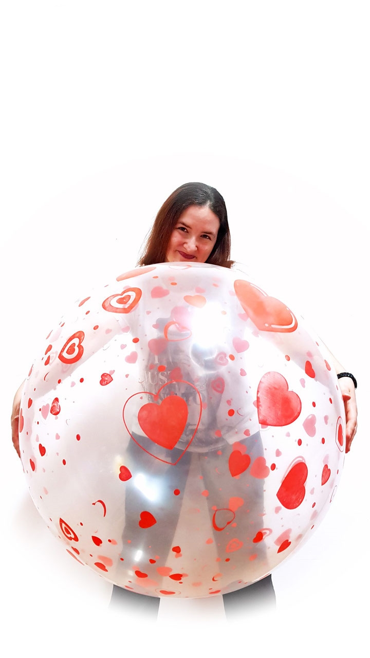 Große Auswahl an Riesenballons 80cm 32 inch viele Farben Ballons Balloons Looner Party Fun Deko Baby Shower Geschenkballons Motive Ballondruck Hameln
