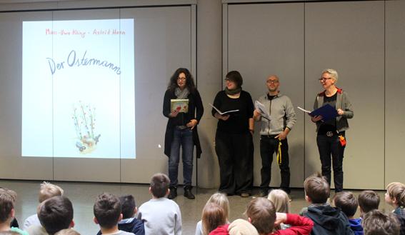 Lesenacht in der Grundschule Wolperath