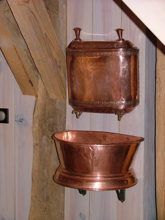 La fontaine en cuivre