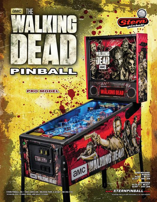borne arcade the walking dead