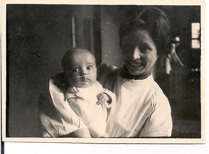 Hier war ich 7 Monate alt