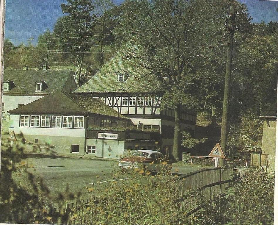 Frohnauer Hammer- techn. Museum frühkapitalistischer Produktion im Erzgebirge