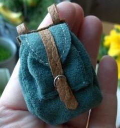 кукольный рюкзак выкройка