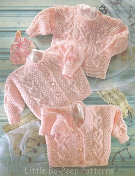вязаная детская кофта, свитр, полувер