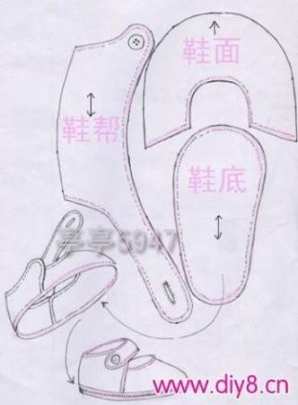 как сшить обувь для куклы своими руками