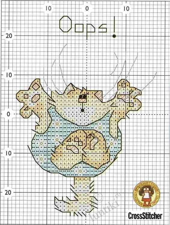 Схема вышивки