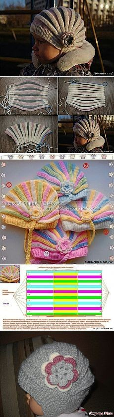 вязаная детская шапочка,вязаный шарф, вязаное кружево, Вязаный край  красивый вязаный край узор вязание , вязаный фестон,  вязаная кромка, вязаная рюша, вязаные пурчатки
