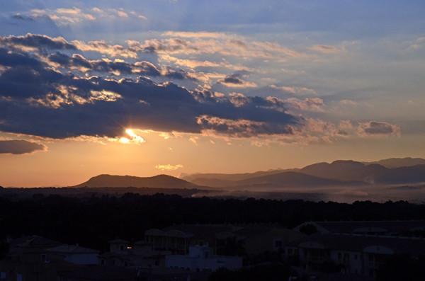 Sonnenuntergang Can Picafort