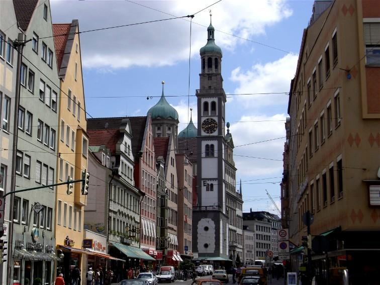 Perlachturm - zur Rundumsicht über die Innenstadt
