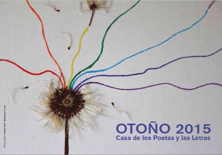 """Cartel para """"Casa de los poetas y las letras"""" con semillas voladoras."""