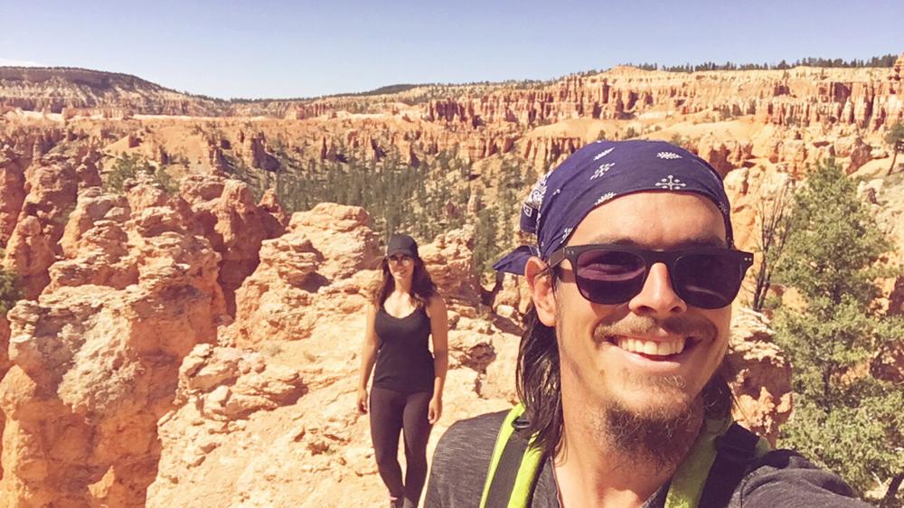 Ein Selfie aus dem Bryce Canyon