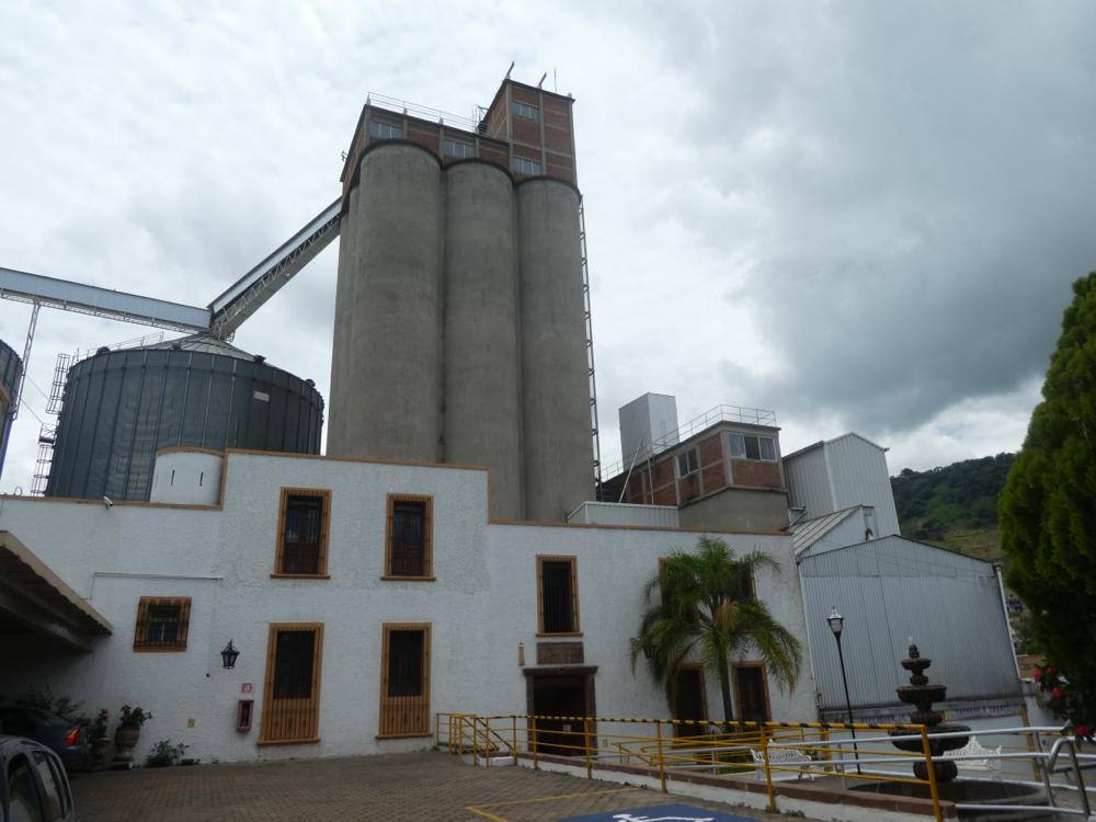 Besichtigung der Getreidemühle