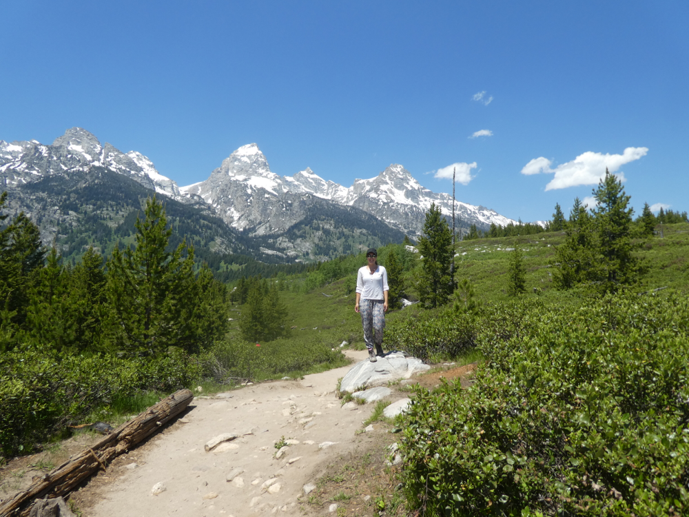 Wandern im Grand Teton National Park