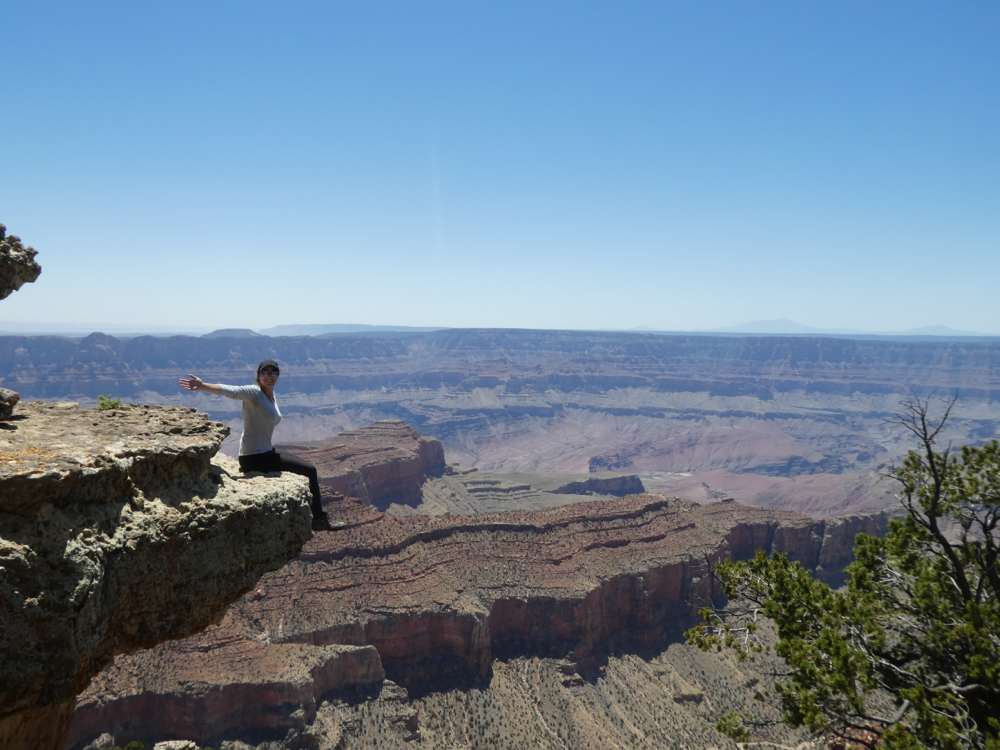 Unterwegs am North Rim des Grand Canyon