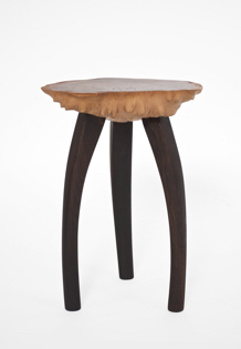 T2571 · Goldfield, Smoked Oak#arttable#table#coffeeetable#homedecoration#artcollector#sculpturel#coffeetable#woodworking#interiordesign#woodsculpture#art#woodart#wooddesign#decorativewood#originalartwork#modernwoodsculpture#joergpietschmann#oldwood