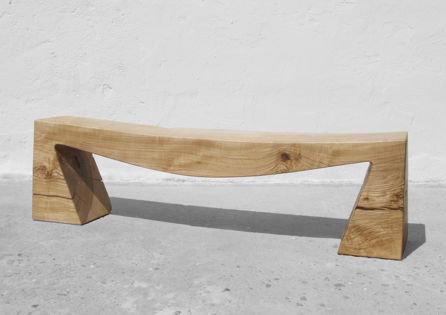 Bench · B1098 · Ash#bench#stool#console#sculpture#bowl#coffeetable#woodworking#interiordesign#woodsculptures#art#woodart#wooddesign#decorativewood#originalartwork#modernwoodsculpture#joergpietschmann#oldwood