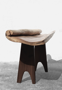 C1259 · Poplar, Europ.Walnut#bench#stool#console#sculpture##woodworking#interiordesign#woodsculptures#art#woodart#wooddesign#decorativewood#originalartwork#modernwoodsculpture#joergpietschmann#oldwood