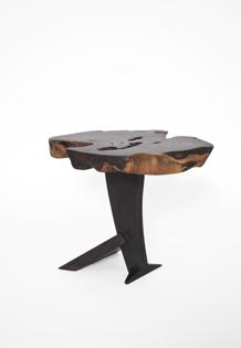 T2551 · Zirikote, Bog Oak#arttable#table#coffeeetable#homedecoration#artcollector#sculpturel#coffeetable#woodworking#interiordesign#woodsculpture#art#woodart#wooddesign#decorativewood#originalartwork#modernwoodsculpture#joergpietschmann#oldwood
