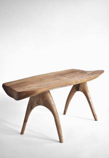 Console,Bench,Table · T1244 · Oak#bench#stool#console#sculpture#bowl#coffeetable#woodworking#interiordesign#woodsculptures#art#woodart#wooddesign#decorativewood#originalartwork#modernwoodsculpture#joergpietschmann#oldwood