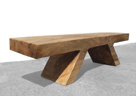 Bench · B2130 ·Poplar#bench#console#sculpture##woodworking#interiordesign#woodsculptures#art#woodart#wooddesign#decorativewood#originalartwork#modernwoodsculpture#joergpietschmann#oldwood