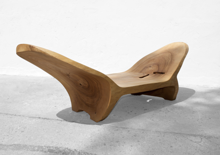 Console/Bench · C1218 · Ash#bench#stool#console#sculpture#bowl#coffeetable#woodworking#interiordesign#woodsculptures#art#woodart#wooddesign#decorativewood#originalartwork#modernwoodsculpture#joergpietschmann#oldwood