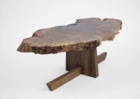 T1497 · Caucasian Walnut, European Walnut#arttable#table#coffeeetable#homedecoration#artcollector#sculpturel#coffeetable#woodworking#interiordesign#woodsculpture#art#woodart#wooddesign#decorativewood#originalartwork#modernwoodsculpture#joergpietschmann
