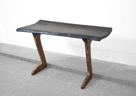 C1269 · Bog Oak, Curupay#desk#bench#stool#console#sculpture#woodworking#interiordesign#woodsculptures#art#woodart#wooddesign#decorativewood#originalartwork#modernwoodsculpture#joergpietschmann#oldwood
