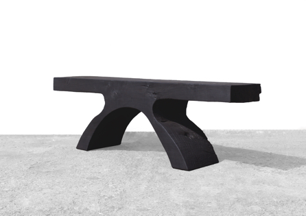 Bench · B2140 · Poplar#bench#stool#console#sculpture##woodworking#interiordesign#woodsculptures#art#woodart#wooddesign#decorativewood#originalartwork#modernwoodsculpture#joergpietschmann#oldwood