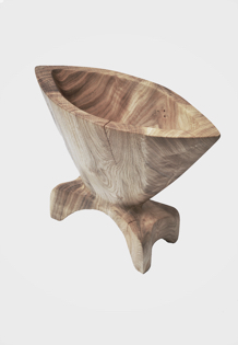 V1618 · Ash#vessel#bowl#coffeetable#woodworking#interiordesign#woodsculptures#art#woodart#wooddesign#decorativewood#originalartwork#modernwoodsculpture#joergpietschmann#oldwood