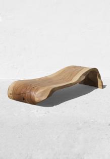 Chaiselongue,Console,Bed · C1238 · Ash#bench#stool#console#sculpture#bowl#coffeetable#woodworking#interiordesign#woodsculptures#art#woodart#wooddesign#decorativewood#originalartwork#modernwoodsculpture#joergpietschmann#oldwood