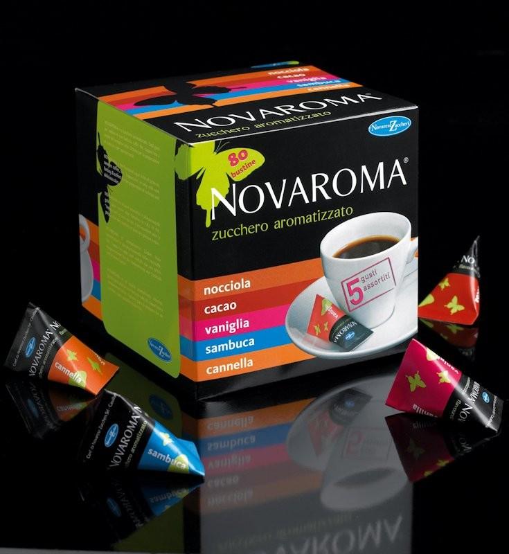 Novaroma Zucchero Aromatizzato , vari gusti !