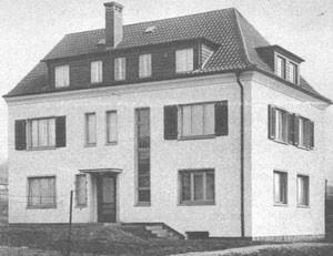 Pfarrhaus, 1930