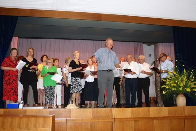 Chor beim Gemeindefest