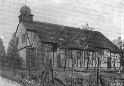 Notkirche Pforzheim-Brötzingen. Erbaut 1908