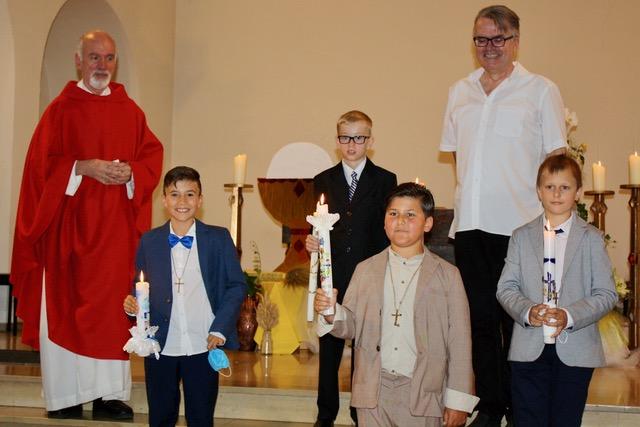 Erstkommunion in St. Antonius – mal wieder! (04.07.2021)