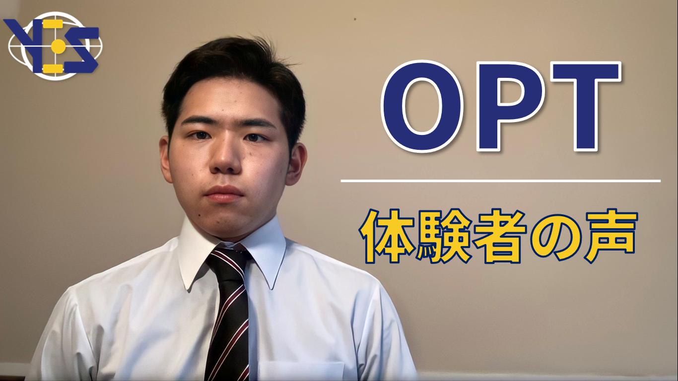 【インターンシップ】第3弾:OPTの生活状況・感想(益田 晃輔)