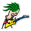 Maskottchen der Gitarrenschule Ma-Guitar