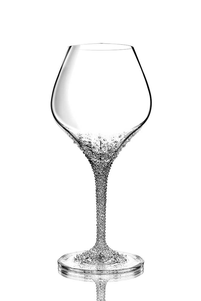 Wine glass Hermes